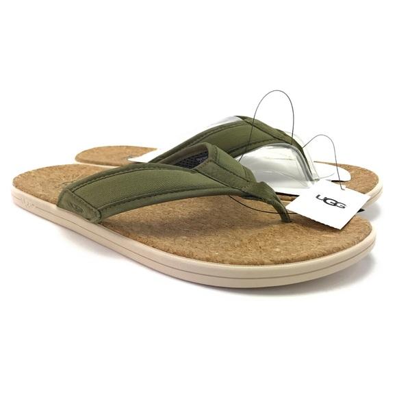 Mens Seaside Sage Green Flip Flop
